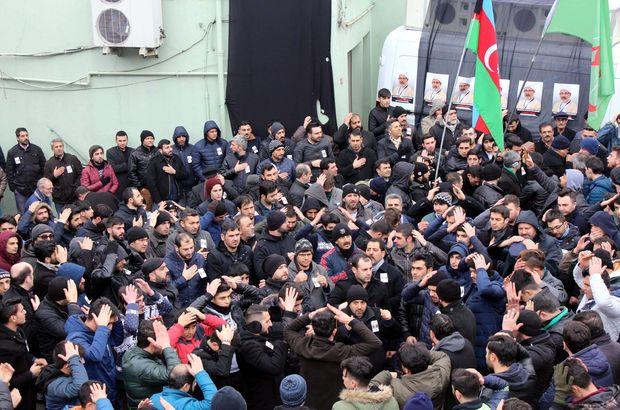 Türkiye Caferileri Lideri'nin yardımcısı son yolculuğuna uğurlandı