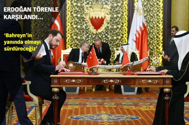 Cumhurbaşkanı Erdoğan Bahreyn'e geldi