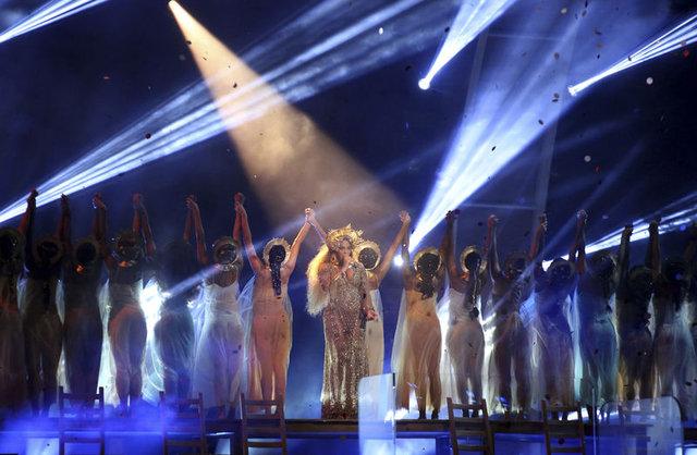2017 Grammy gecesine Beyonce damgası