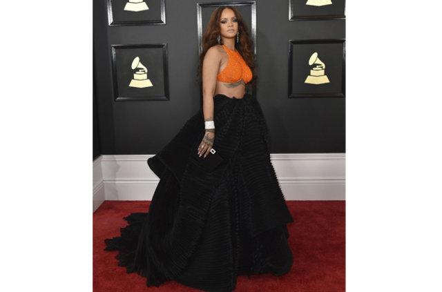 2017 Grammy Ödül Töreni'nde kırmızı halı şıklığı
