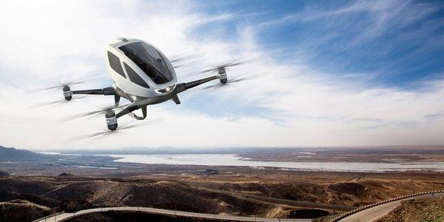 İnsanlı drone'da yeni dönem başlıyor