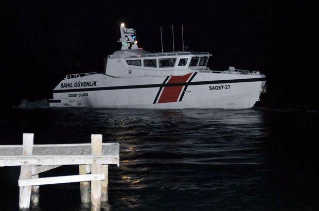 Muğla'da balıkçı teknesi battı