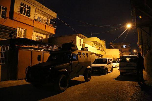 Adana'da terör operasyonu! Çok sayıda gözaltı var...
