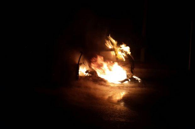 otomobil yangını