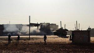 El Bab'da 1 asker şehit oldu, 4 asker yaralandı