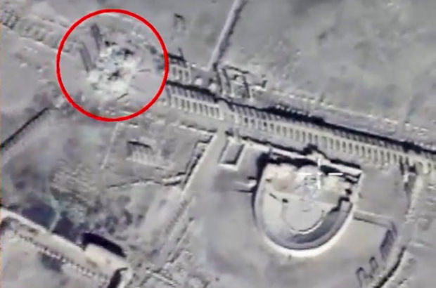 Rusya, Palmira'nın son halini görüntüledi