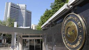 Dışi̇şleri̇ Bakanlığı: Ülkemize yönelik iddiaları kesinlikle reddediyoruz
