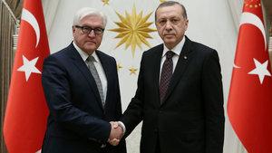 Erdoğan ile Steinmeier telefonda görüştü