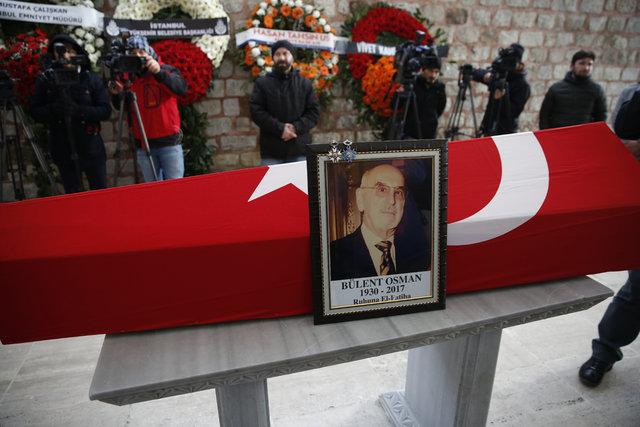 Bülent Osman son yolculuğuna uğurlandı.