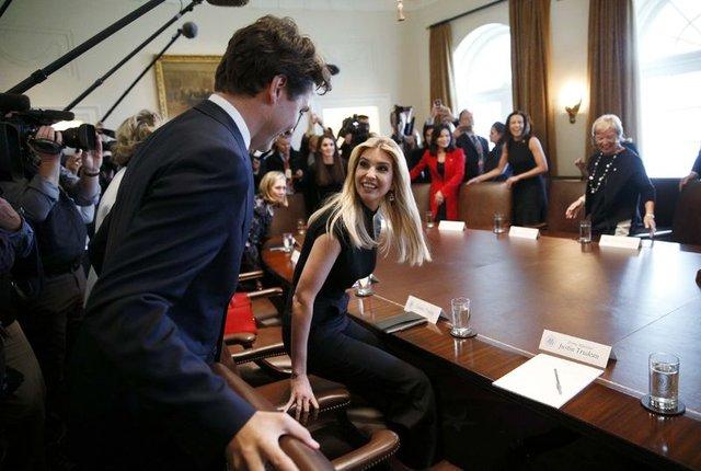 Kanada Başbakanı, Ivanka'nın kıskacında!