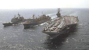 ABD uçak gemisi DEAŞ operasyonları için Akdeniz'de