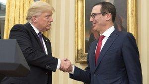 ABD Senatosu Trump'ın Hazine Bakanı Mnuchin'i onayladı