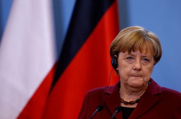 Merkel, İsrail ziyaretini iptal etti