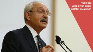 CHP anayasa değişikliğini Anayasa Mahkemesi'ne götürmeyecek