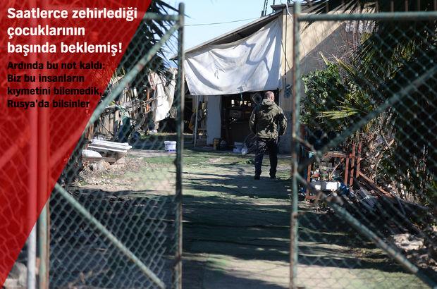 Antalya'da aile katliamı!