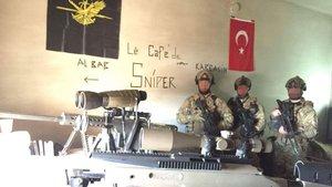 El Bab'da keskin nişancıların gözleri hedefte