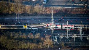 Lüksemburg'da trenler çarpıştı! 1 ölü
