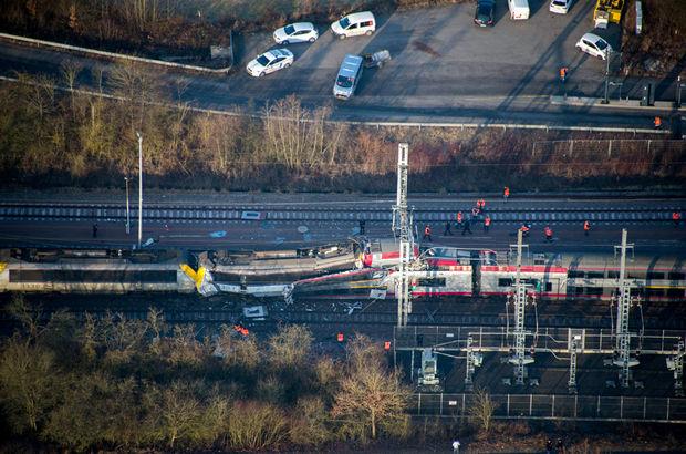 Lüksemburg'da feci kaza! İki tren çarpıştı