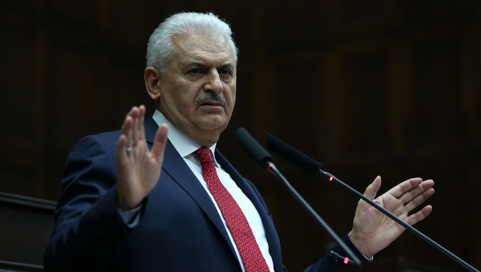 Başbakan Binali Yıldırım, CHP'nin Anayasa Mahkemesi'ne gitmeme kararına ilişkin olarak,