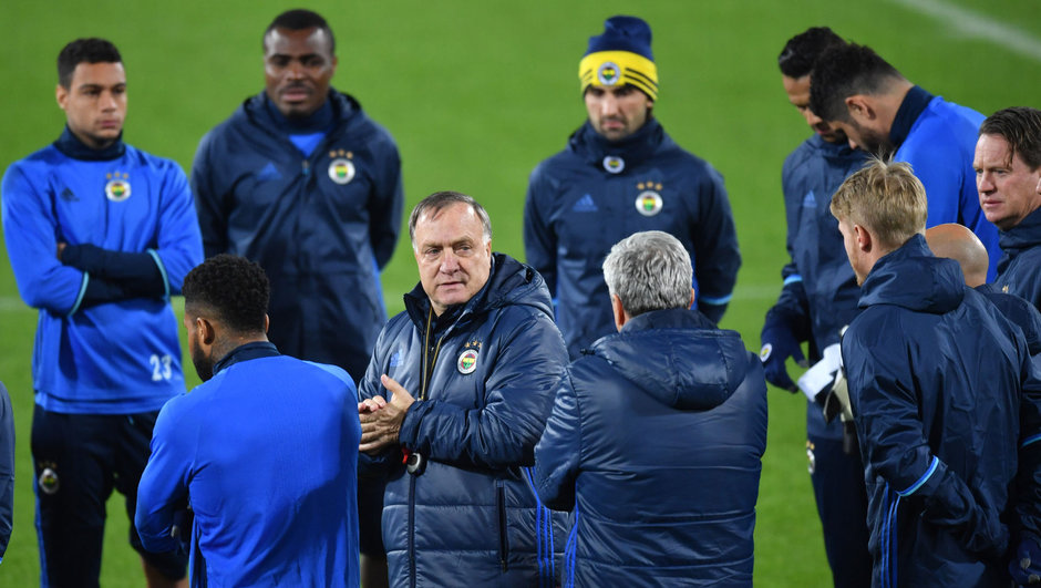 Dick Advocaat Fenerbahçe Krasnodar