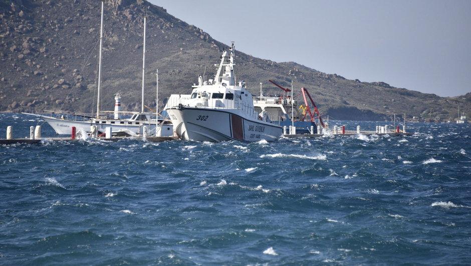 Kardak Kayalıkları Yunanistan Türkiye Türk Sahil Güvenlik