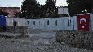 Çanakkale'de deprem bölgesine konteyner okul kuruluyor