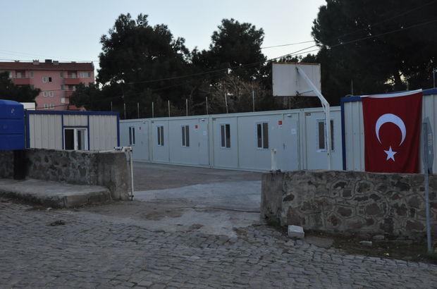 Deprem bölgesine konteyner okul kuruluyor