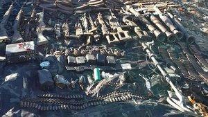 Hakkari'de 152 makineli tüfek mühimmatı bulundu