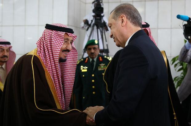 Erdoğan'dan Kral Selman'a teşekkür