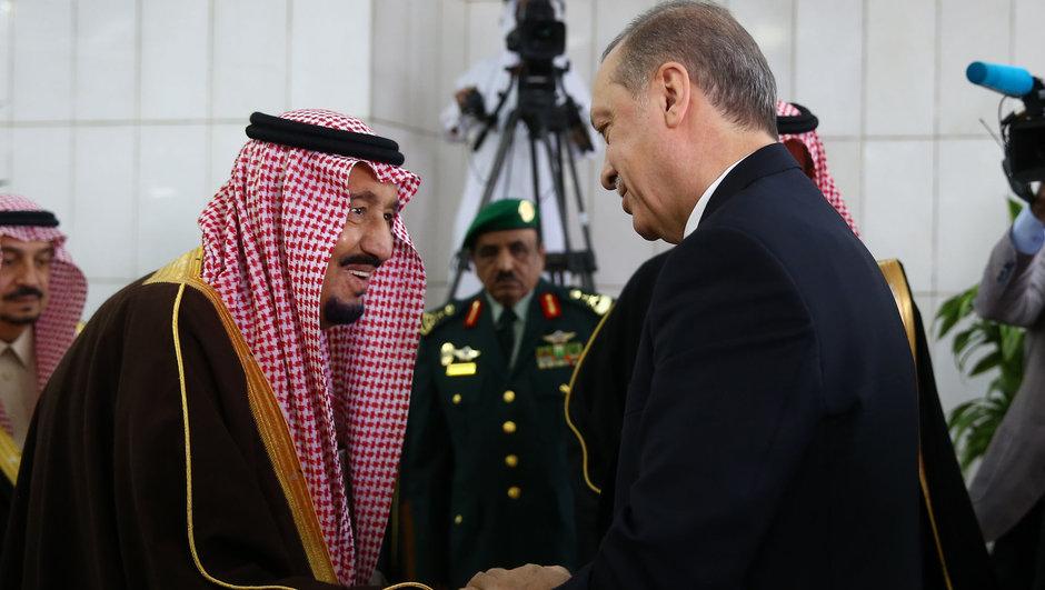 Cumhurbaşkanı Erdoğan'dan Suudi Arabistan Kralına teşekkür
