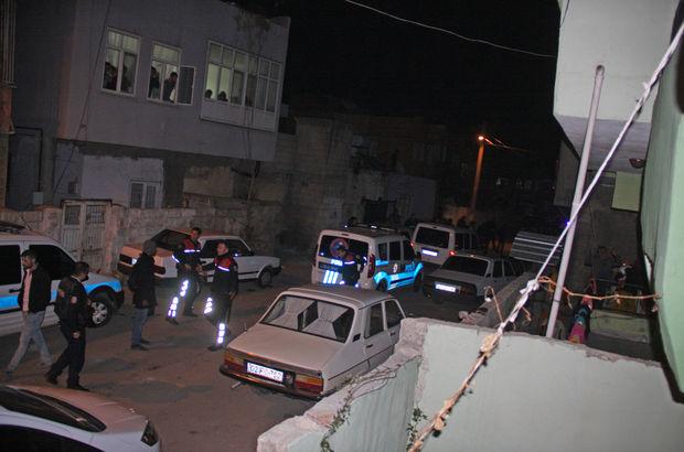 Komşular arasında silahlı sopalı kavga