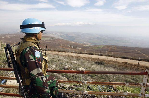Suriye'den Golan Tepeleri'ne roket
