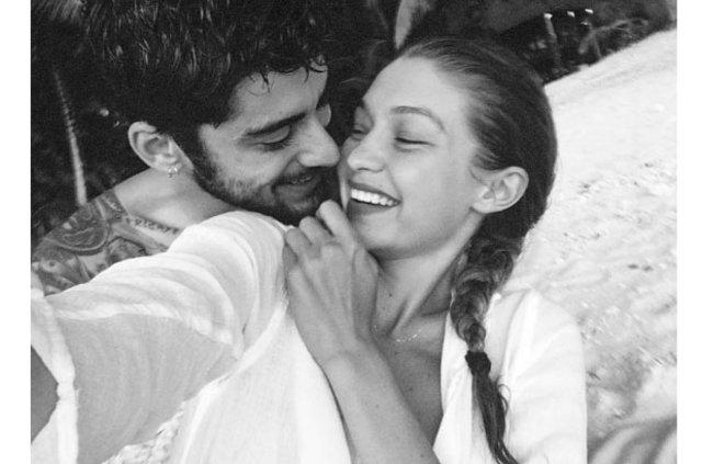 Gigi Hadid'den sevgilisi Zayn Malik'e 14 Şubat jesti