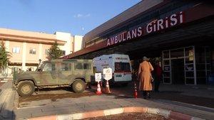 El Bab'da Kirpi'nin devrilmesi sonucu yaralanan askerler Türkiye'ye getirildi