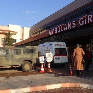 El Bab'da devrilen Kirpi'de yaralanan askerler Türkiye'de