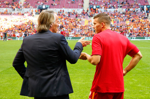 Lukas Podolski Jan Olde Riekerink Galatasaray