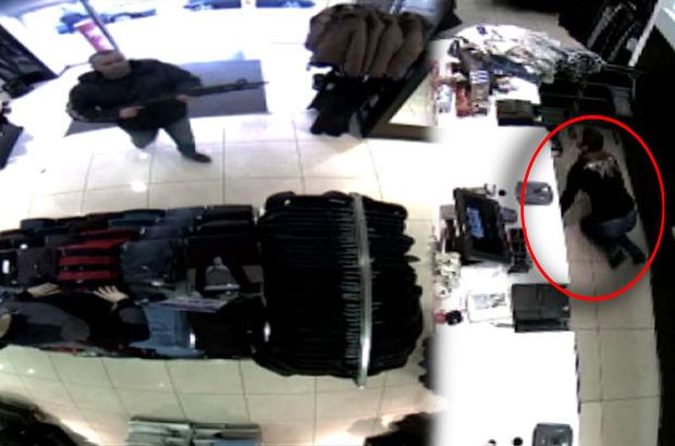 mağaza pompalı tüfek