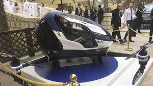 Dubai uçan taksilerin kullanıldığı ilk kent olacak