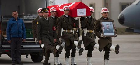 Şehit Uzman Çavuş Murat Tevlim son yolculuğuna uğurlandı