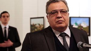 Rus Büyükelçi Andrey Karlov suikastında bir kişi gözaltına alındı