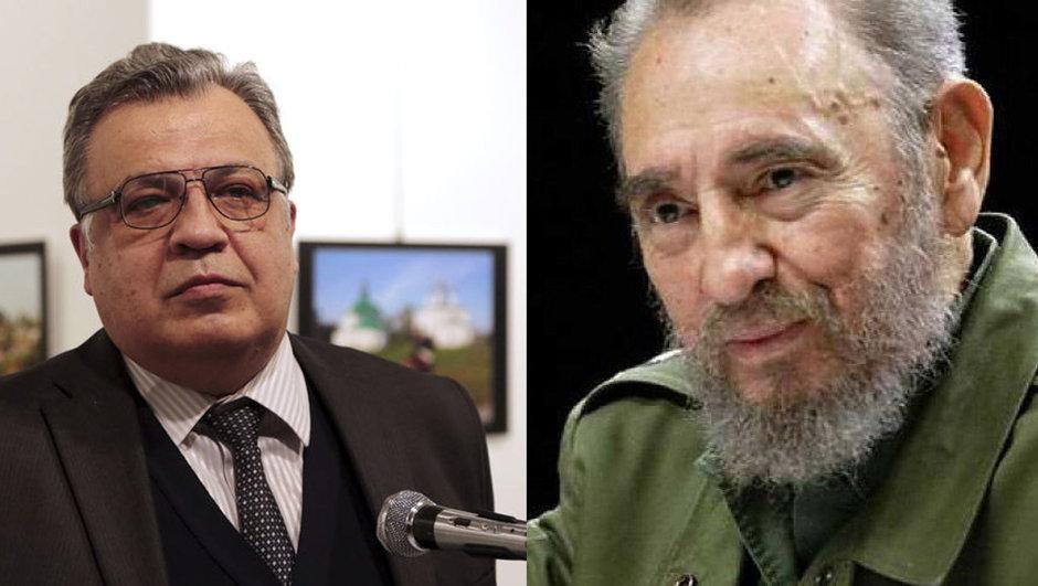 Andrey Karlov ve Fidel Castro'nun adları Moskova'da sokağa verilecek