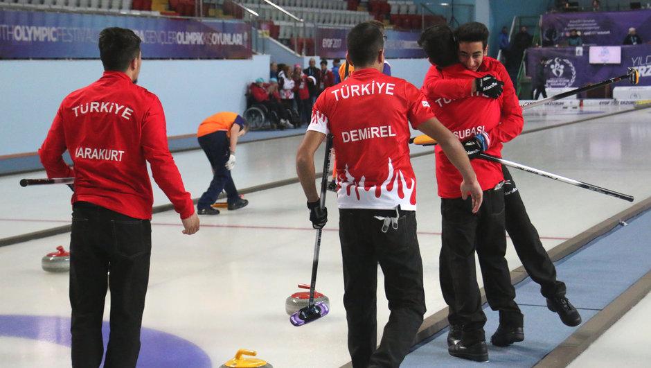 Erkek Curling Milli Takımı EYOF 2017