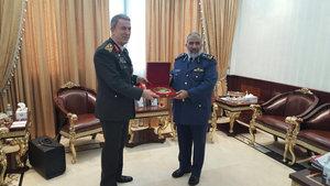 Orgeneral Akar Katar Genelkurmay Başkanı ile görüştü
