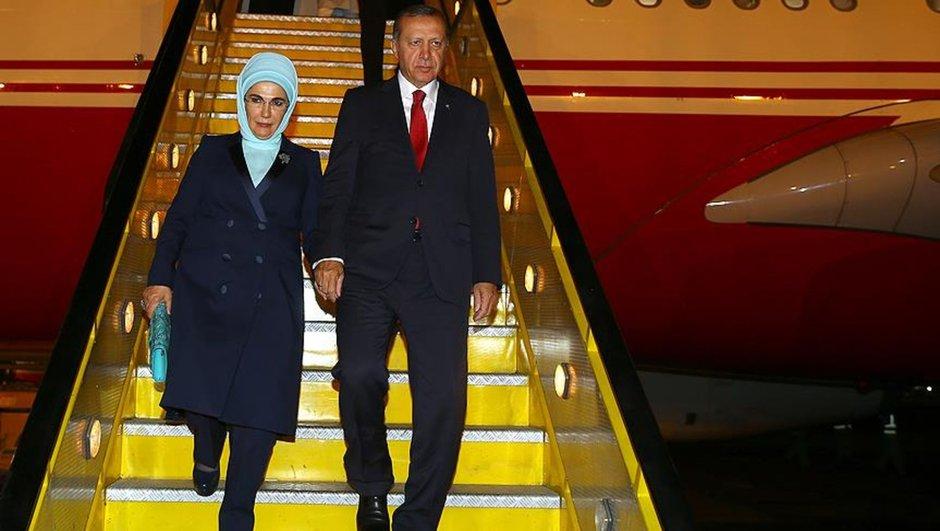 Recep Tayyip Erdoğan Medine Suudi Arabistan