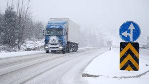 Düzce'de yoğun kar yağışı