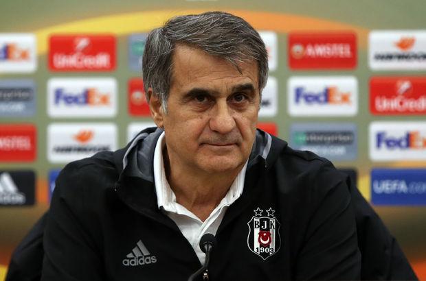 Şenol Güneş Beşiktaş UEFA Avrupa Ligi