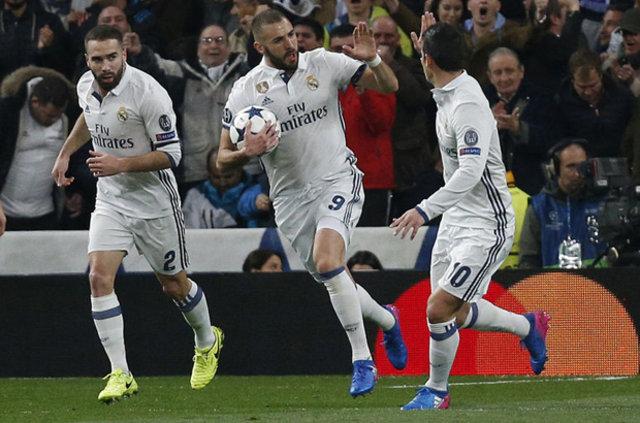 Şampiyonlar Ligi 2. tur sonuçları: Real Madrid: 3 - Napoli: 0 / Bayern Münih: 5 - Arsenal: 1