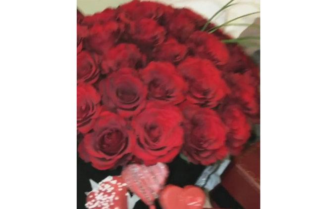 Tosic'ten Jelena Karleusa'ya 'Sevgililer Günü' hediyesi