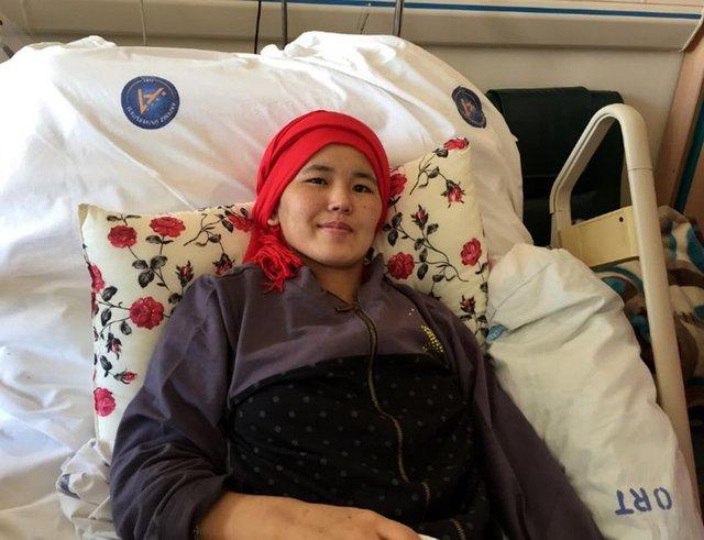 Fuhuşa zorlanıp dövülen Malikan Nootieva hastaneden taburcu oldu