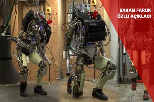 'Robot asker çok yakın'